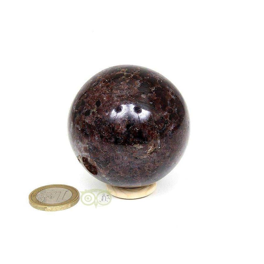 Granaat Almandien bol-  55,8 mm - 326 gram-1