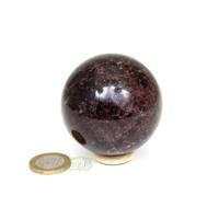 thumb-Granaat Almandien bol-  55,8 mm - 326 gram-2