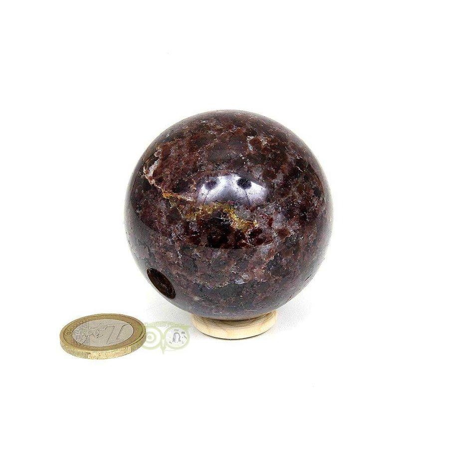 Granaat Almandien bol-  55,8 mm - 326 gram-4
