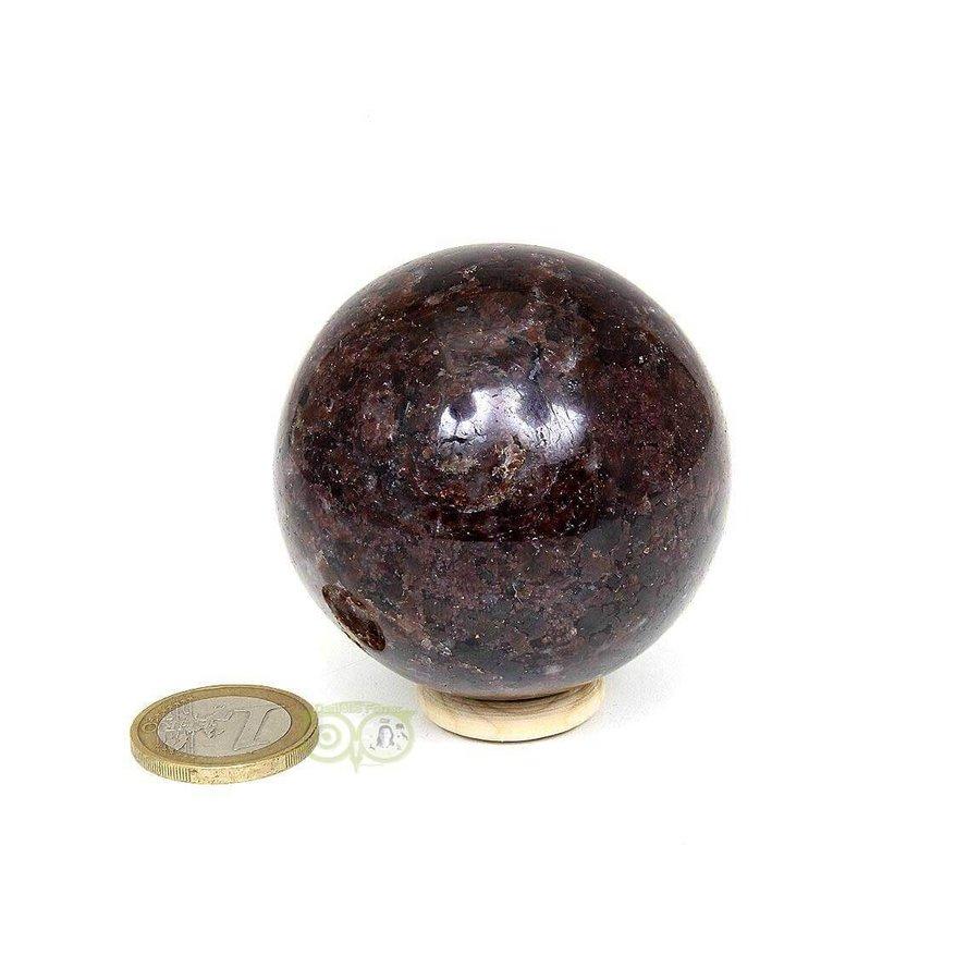 Granaat Almandien bol-  55,8 mm - 326 gram-5