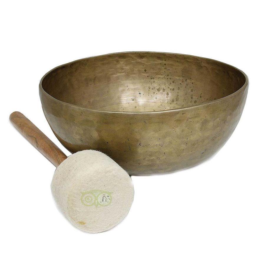 Tibetaanse klankschaal Nr 57 - 1256 gram-1