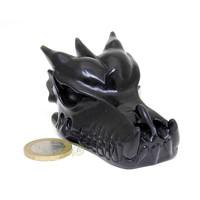 thumb-Obsidiaan draken schedel 148 gram-2