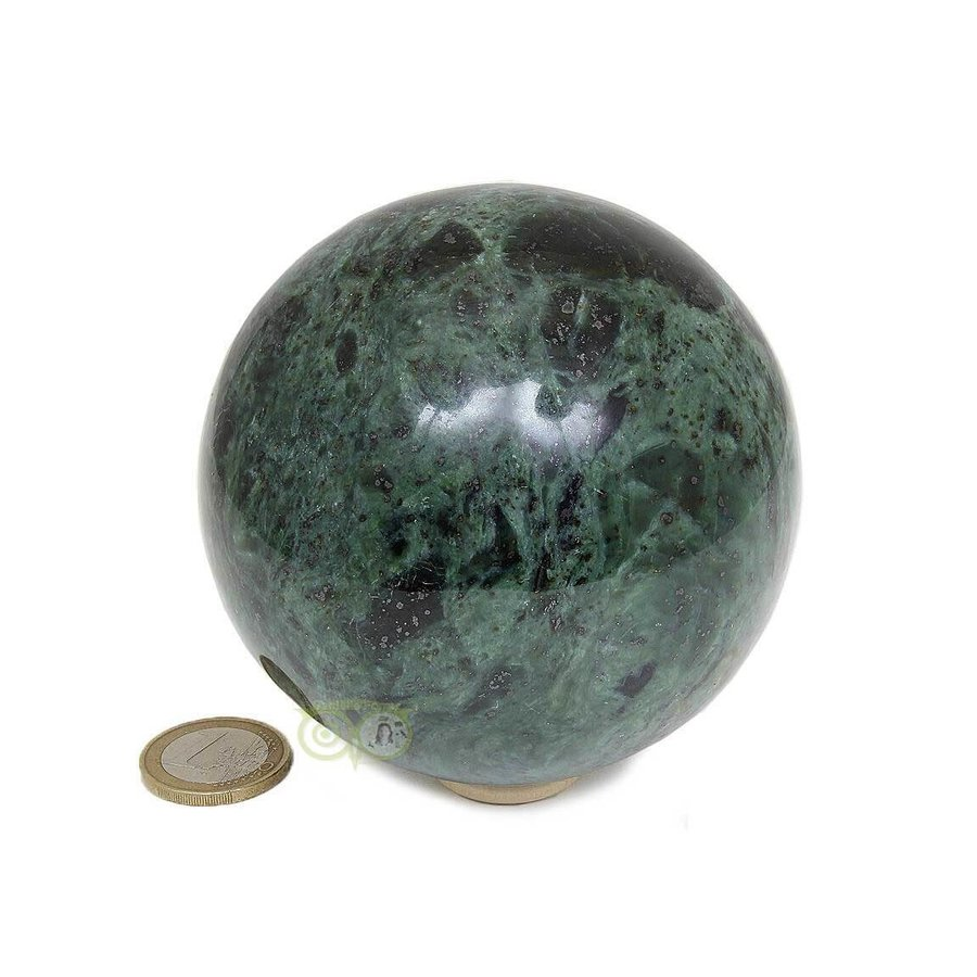 Groene Jade  Bol  Nr 2 -924 gram - 87.4 mm-2