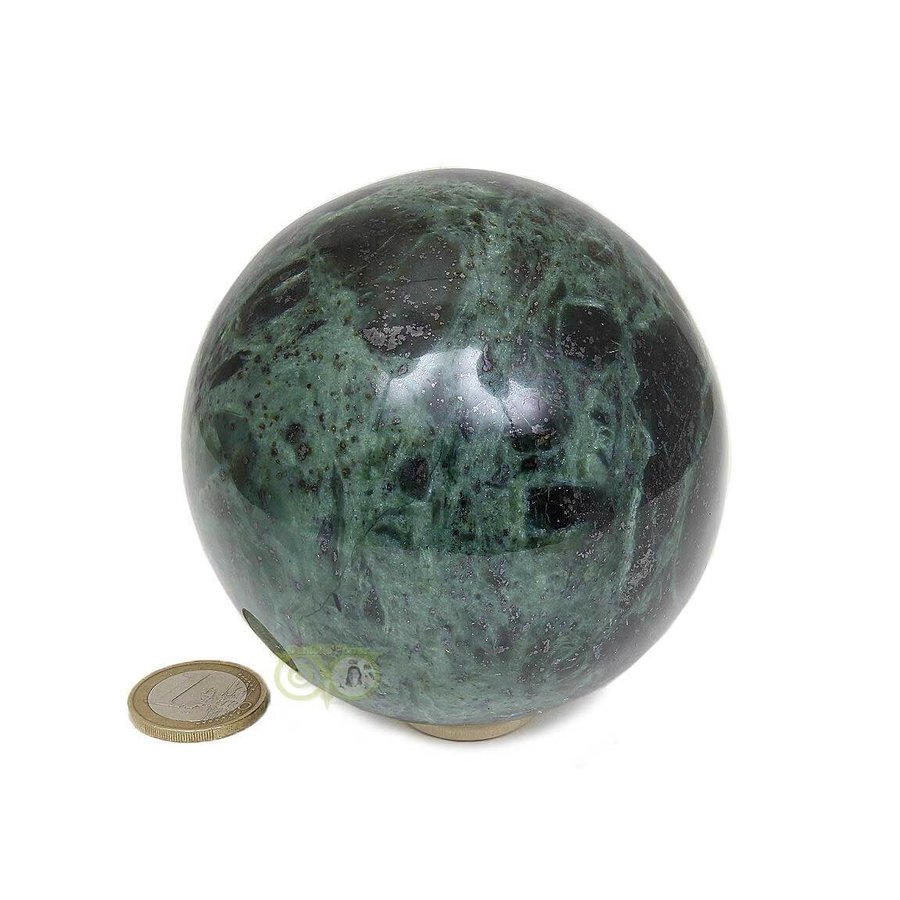 Groene Jade  Bol  Nr 2 -924 gram - 87.4 mm-3
