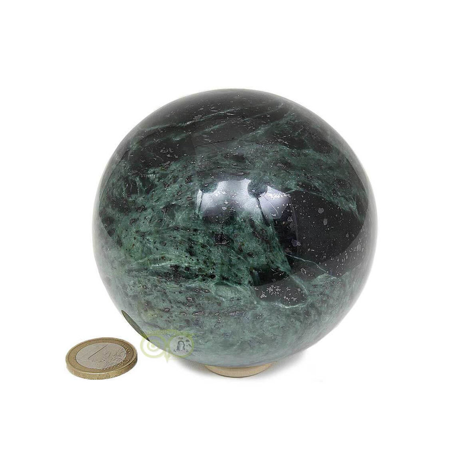 Groene Jade  Bol  Nr 2 -924 gram - 87.4 mm-4