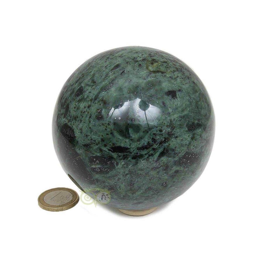 Groene Jade  Bol  Nr 2 -924 gram - 87.4 mm-5