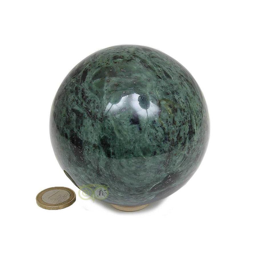 Groene Jade  Bol  Nr 2 -924 gram - 87.4 mm-6