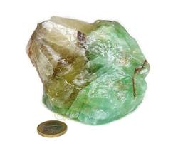Smaragd Calciet | Calciet in je huis verwijdert negatieve ladingen, en verhoogt het energie niveau.