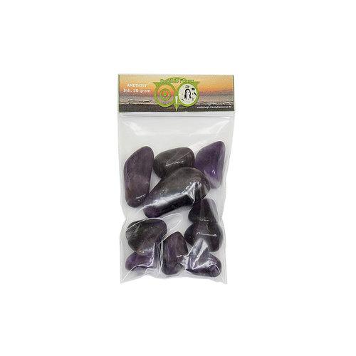 Amethist  50 gram - edelstenen voordeel