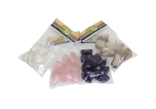 4 soorten edelstenen voordeel - 4 x 50 gram