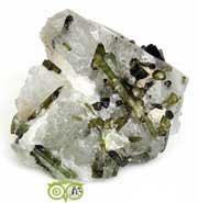 Groene Toermalijn (verdeliet) | Ruwe mineralen kopen | edelstenen webwinkel - Webshop Danielle Forrer