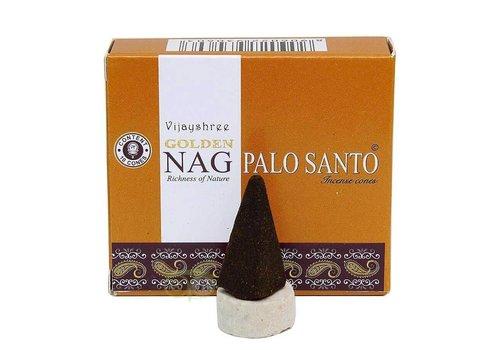 Wierookkegels Golden Nag Palo Santo - Vijayshree®