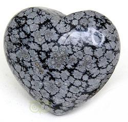 Sneeuwvlok-Obsidiaan kopen | Edelstenen Webwinkel - Webshop Danielle Forrer