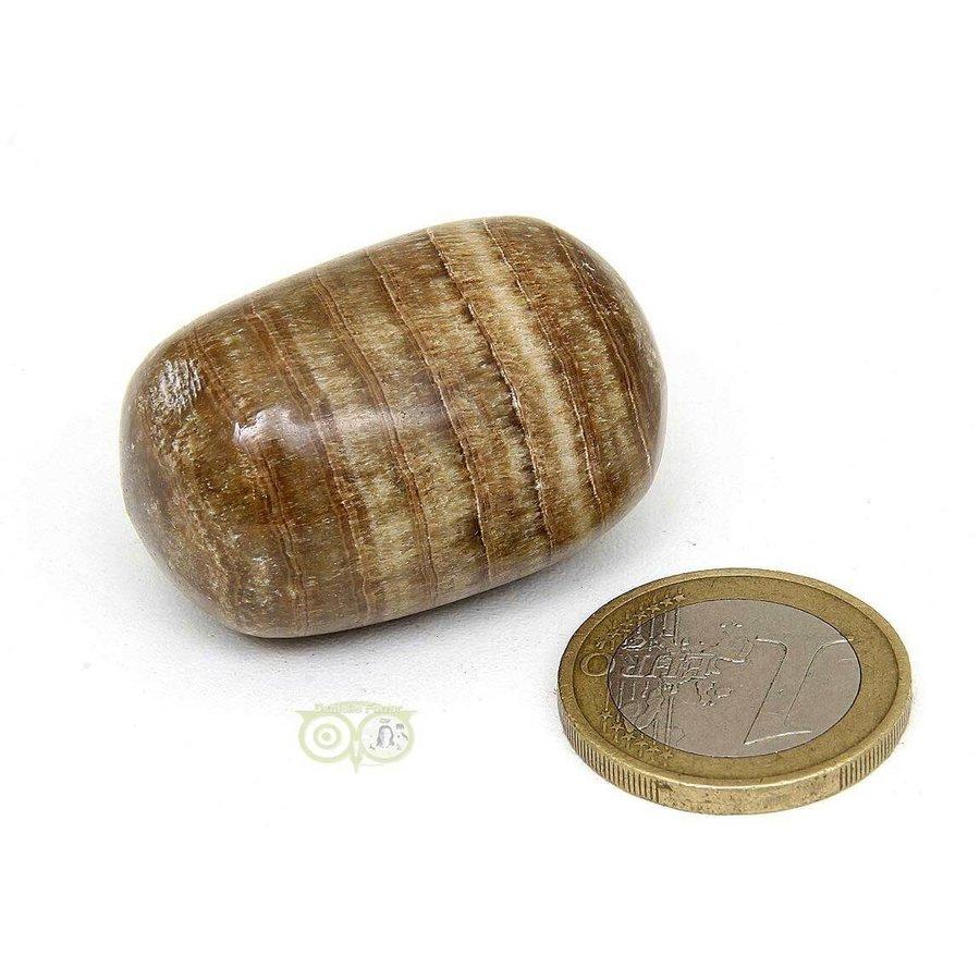 Aragoniet knuffelsteen Nr 11 - 35 gram-4