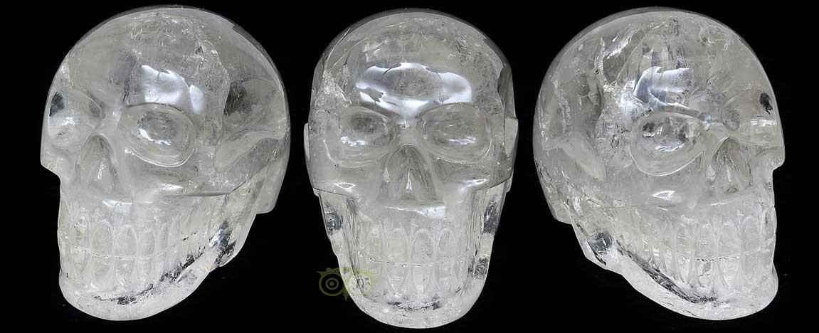Braziliaanse Carving Kristallen schedels - Exclusive | Edelstenen webwinkel - Webshop Danielle Forrer