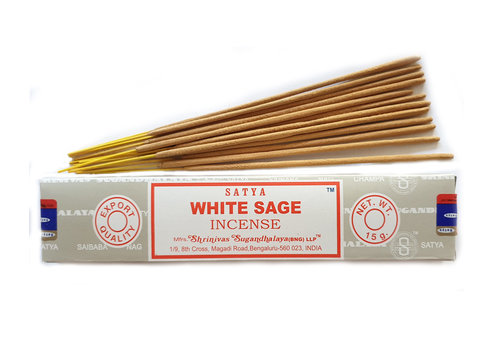 Wierook Satya Witte salie - 15 gram