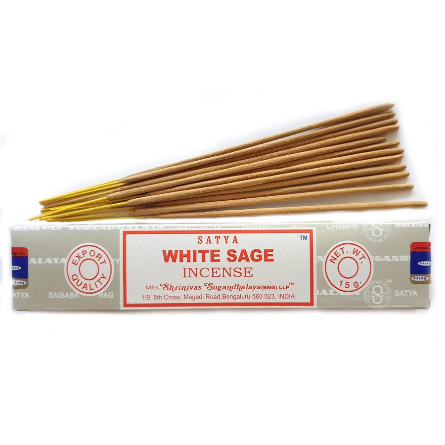 Wierook Satya Witte salie - 15 gram-1