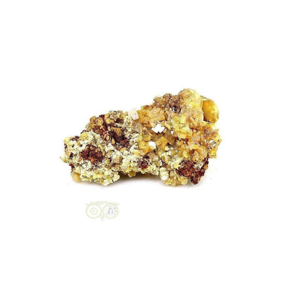 Wulfeniet op Mimetesiet Nr 2 - 16 gram-2
