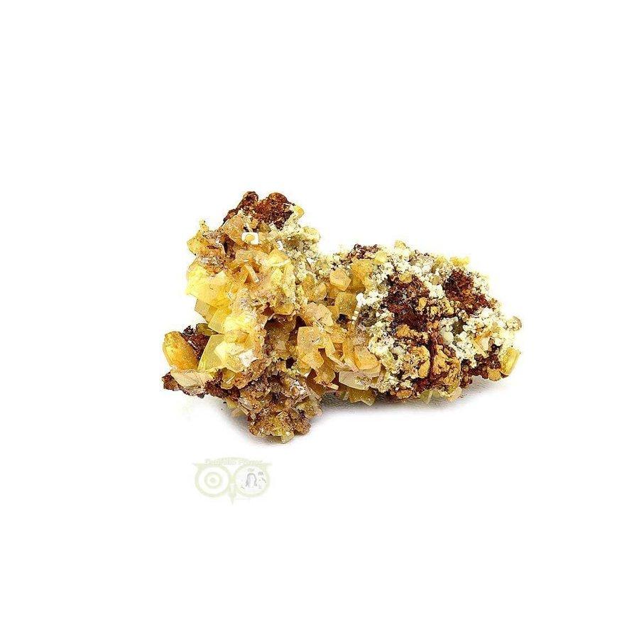 Wulfeniet op Mimetesiet Nr 2 - 16 gram-3