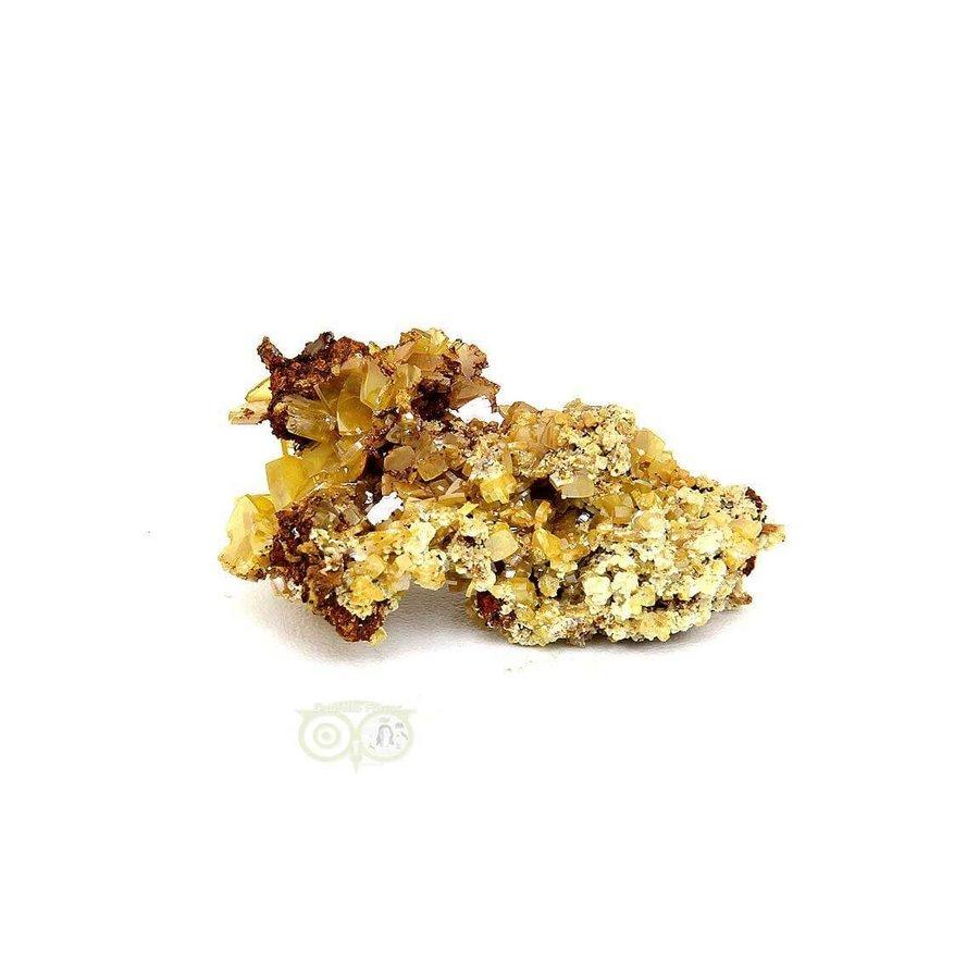Wulfeniet op Mimetesiet Nr 2 - 16 gram-1