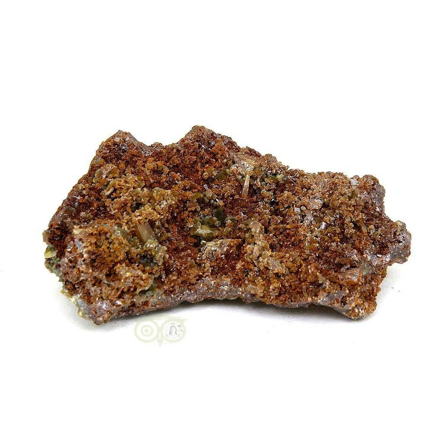 Wulfeniet op Mimetesiet Nr 3 - 43  gram-3