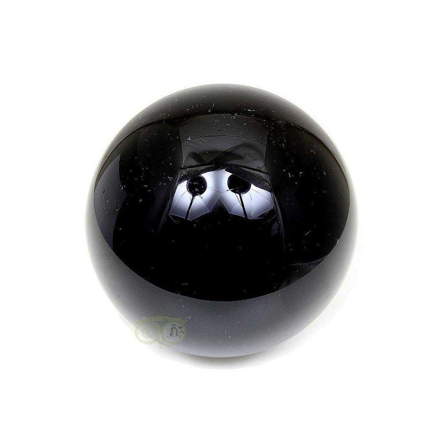Zwarte Obsidiaan bol 1441 gram - 11 cm-1