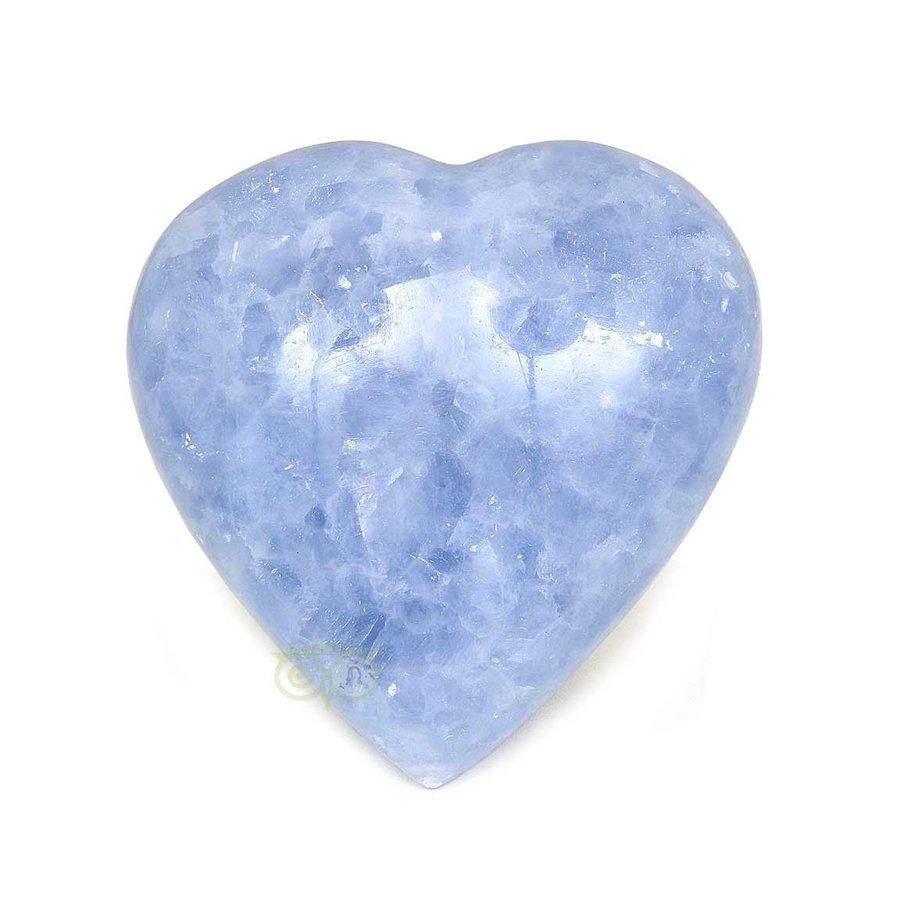 Blauwe Calciet hart Nr 27 - 363 gram-1