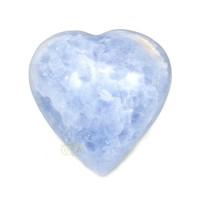 thumb-Blauwe Calciet hart Nr 27 - 363 gram-3