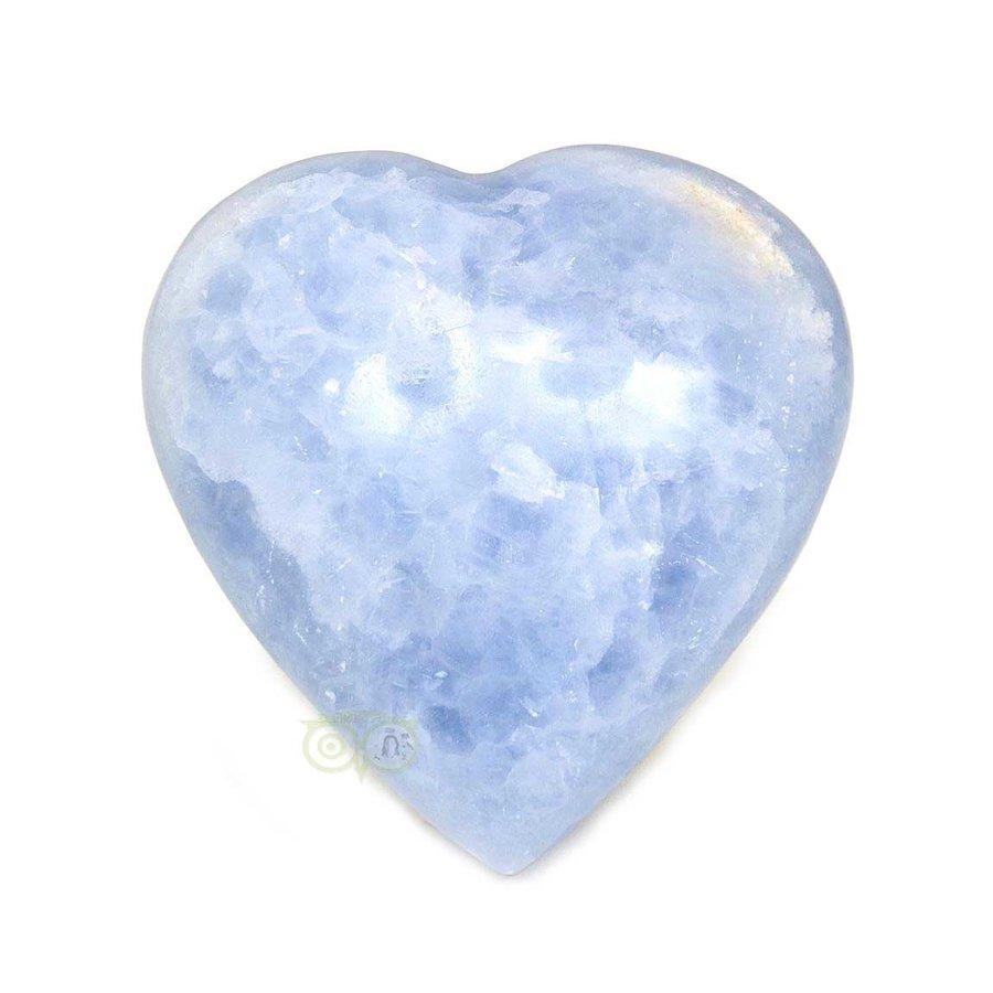 Blauwe Calciet hart Nr 27 - 363 gram-3