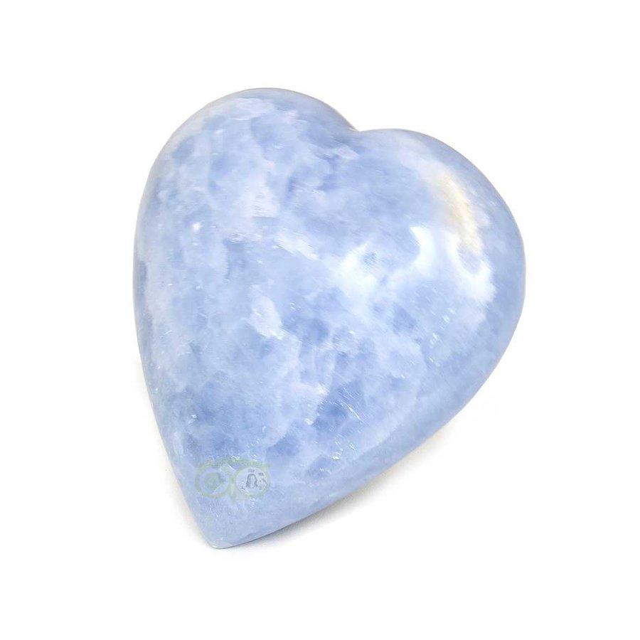 Blauwe Calciet hart Nr 27 - 363 gram-4