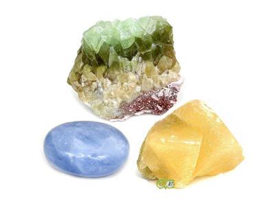 Calciet | Blauwe Calciet | Ruwe Calciet | Calciet kopen | Edelstenenwebwinkel - Webshop Danielle Forrer