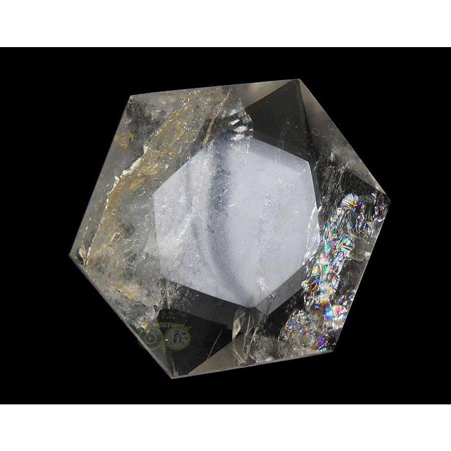 Bergkristal Ster -Hexagon Nr 2 - 55 gram-1