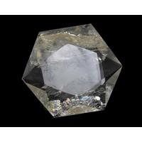 thumb-Bergkristal Ster -Hexagon Nr 2 - 55 gram-2