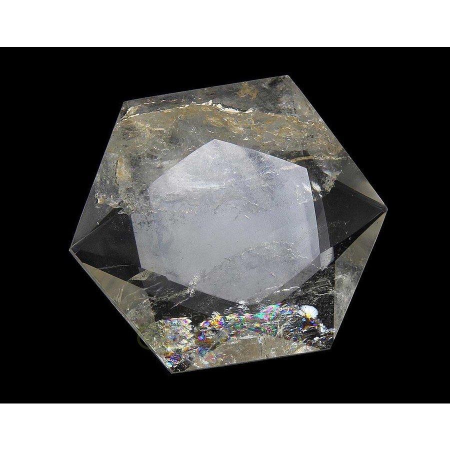 Bergkristal Ster -Hexagon Nr 2 - 55 gram-2