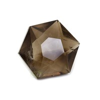 thumb-Rookkwarts Ster - Hexagon  Nr 6 - 132  gram-1