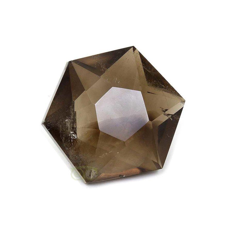 Rookkwarts Ster - Hexagon  Nr 6 - 132  gram-1