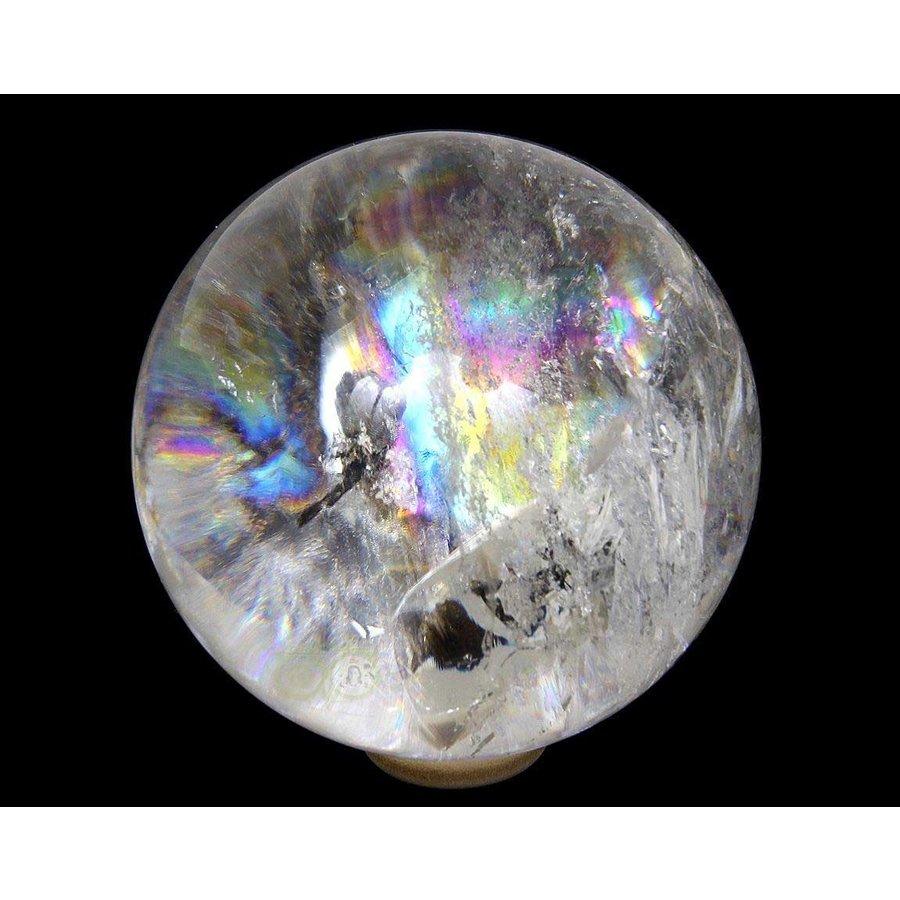 Bergkristal bol Nr 2 - 64 mm - 360 gram - Brazilie-2