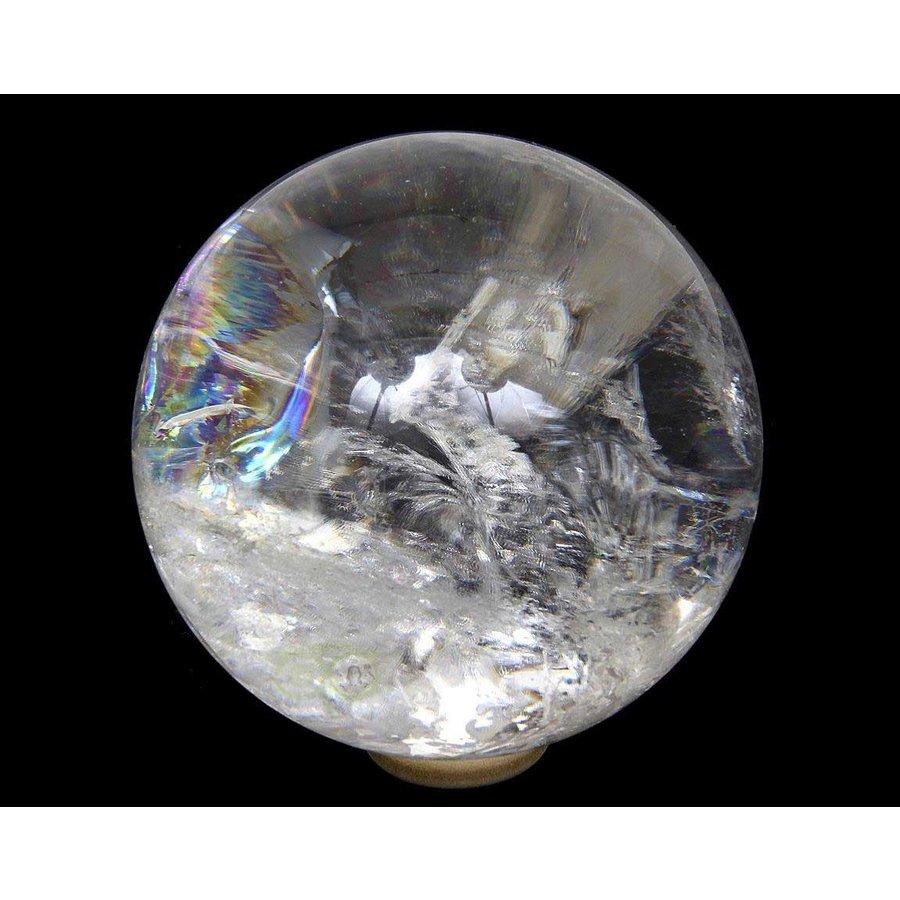 Bergkristal bol Nr 2 - 64 mm - 360 gram - Brazilie-3