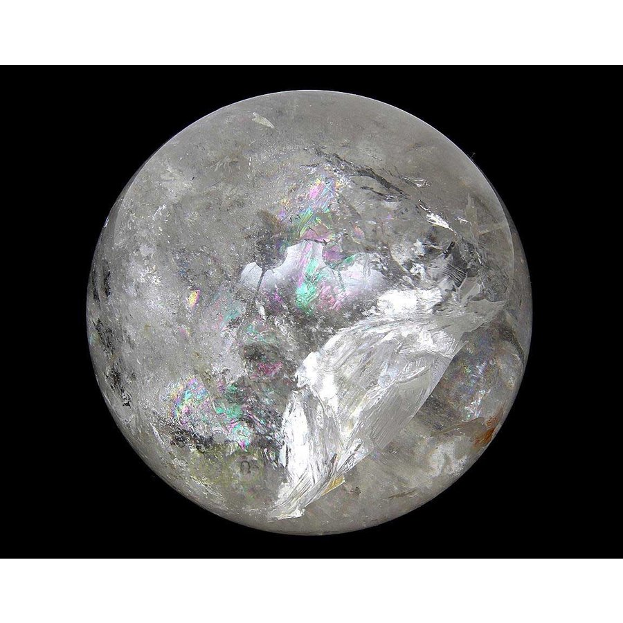 Bergkristal bol Nr 5 - 91 mm - 1070 gram - Brazilie-6