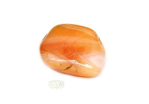 Carneool Botswana Knuffelsteen Nr 9
