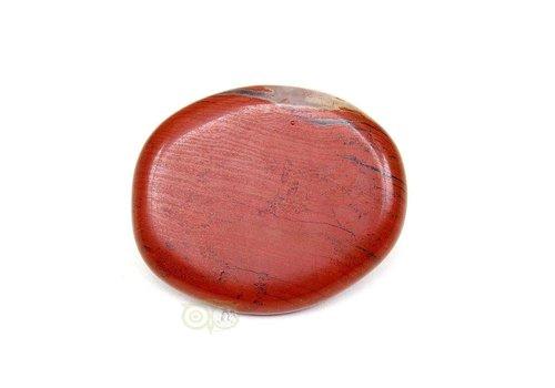 Rode Jaspis oplegsteen Nr 5 - 29 gram