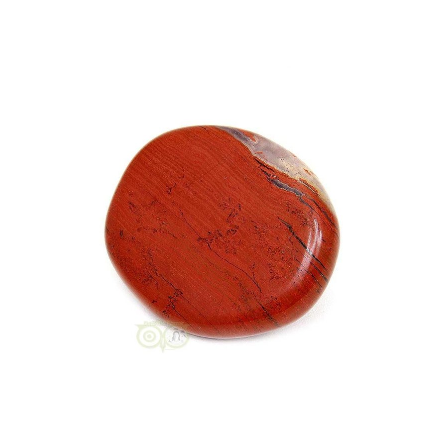 Rode Jaspis oplegsteen - zaksteen - Nr 5 -29 gram-2