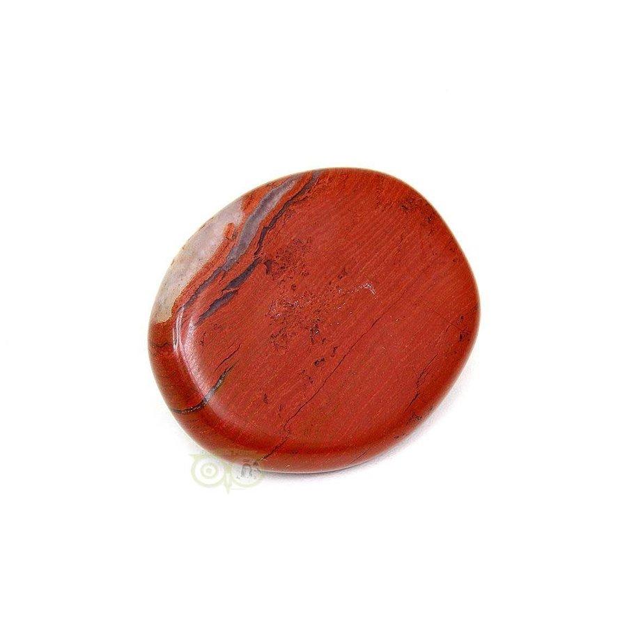Rode Jaspis oplegsteen - zaksteen - Nr 5 -29 gram-4