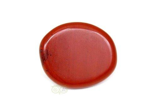 Rode Jaspis oplegsteen Nr 6 - 30 gram