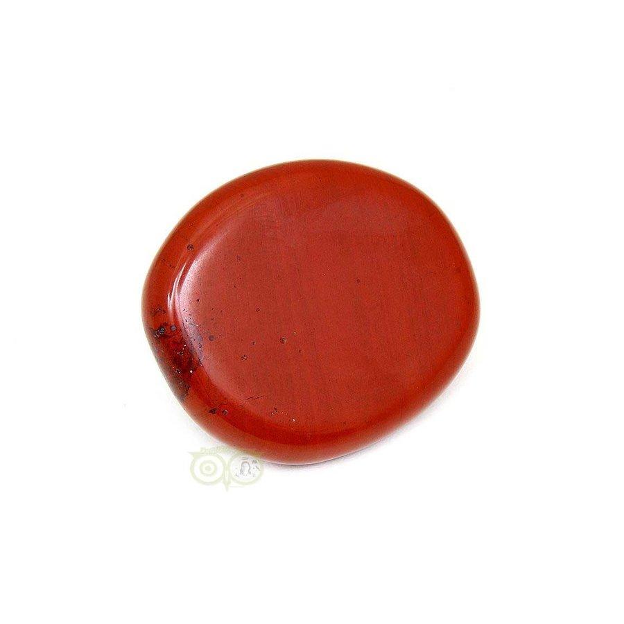 Rode Jaspis oplegsteen - zaksteen - Nr 6 - 30 gram-2