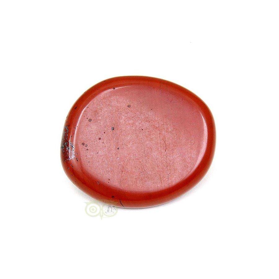 Rode Jaspis oplegsteen - zaksteen - Nr 6 - 30 gram-3