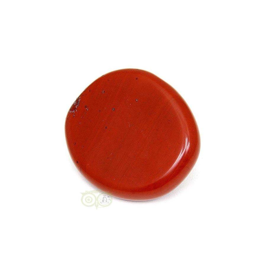 Rode Jaspis oplegsteen - zaksteen - Nr 6 - 30 gram-4