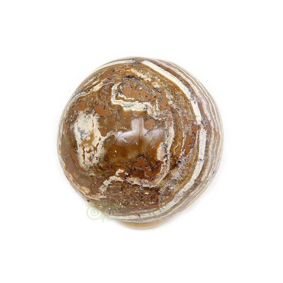 Aragoniet bol Nr 1 - 139 gram -  Ø 4,83 cm-2