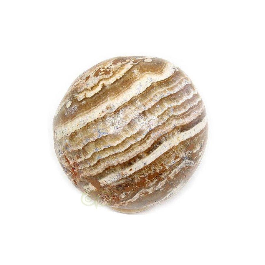 Aragoniet bol Nr 1 - 139 gram -  Ø 4,83 cm-1