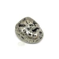 thumb-Pyriet trommelsteen Nr 3 - 34  gram-1
